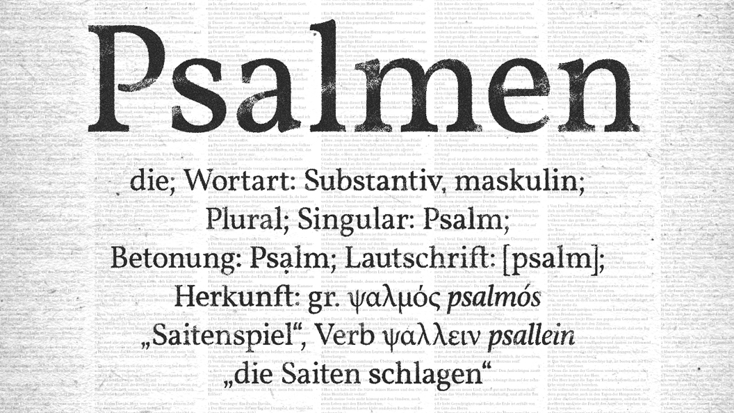 Predigtserie Header image Psalmen