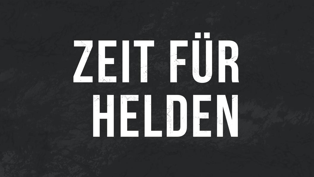 Predigtserie Header image Zeit für Helden