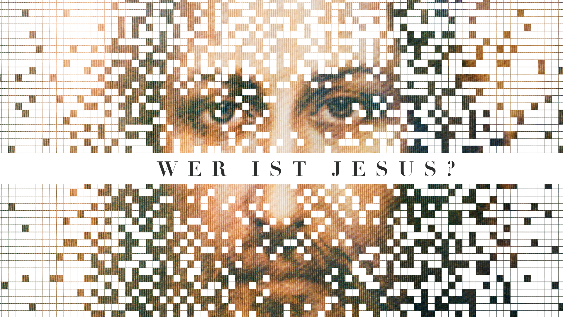 Predigtserie Header image Wer ist Jesus?