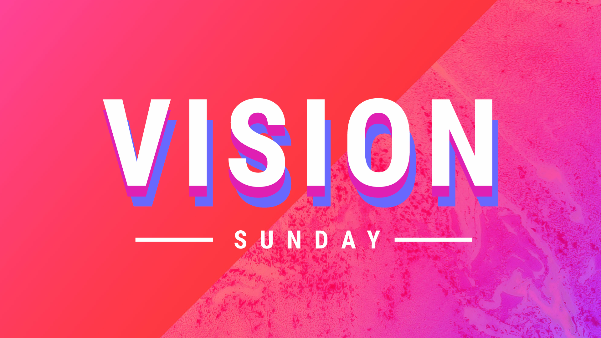 Vision Sunday 2019 (September)